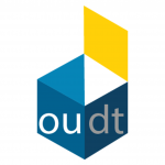 Logo design for Oudt, a project to socialize and mobilize elderly in the Netherlands